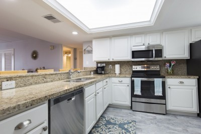 Newly updated modern kitchen