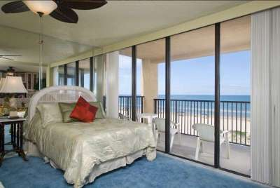 Oceanview from the bedroom